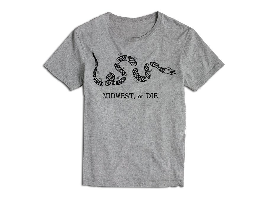 Midwest or Die - Grey
