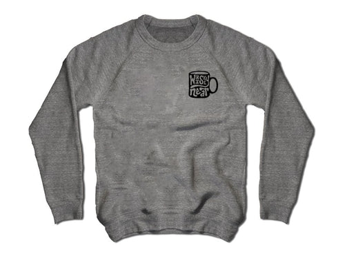 Whiskey Neat Fleece - Grey