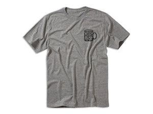 Whiskey Neat Tee - Grey