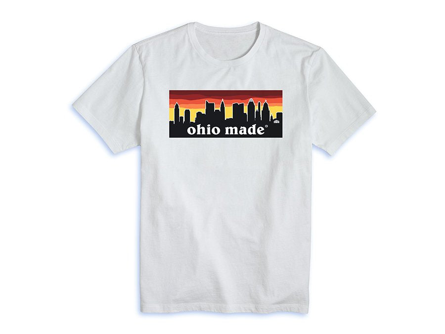 Ohio Made Red Sunset Tee (More Colors Available)