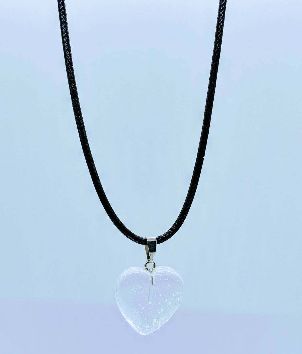 Heart Pendant Necklace ~ Clarity