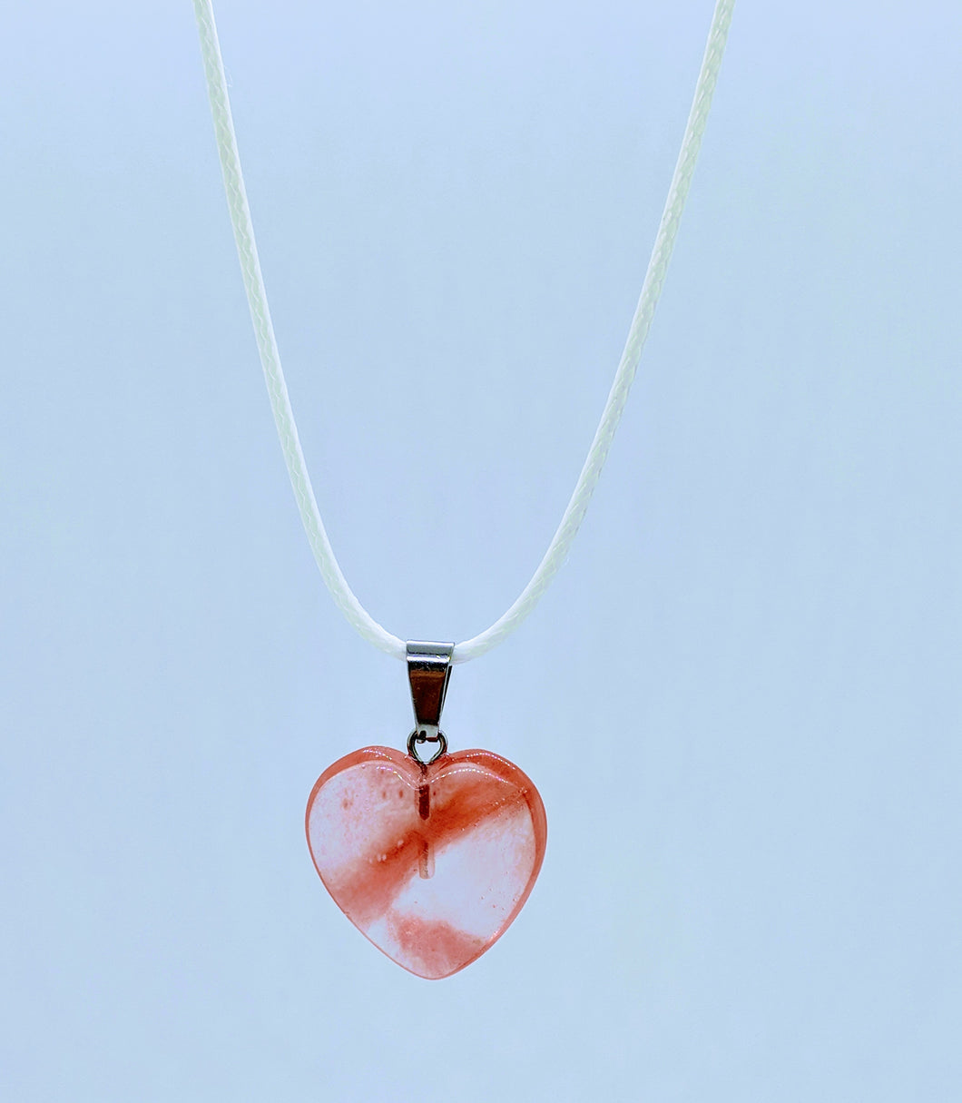 Heart Pendant Necklace ~ Innocence