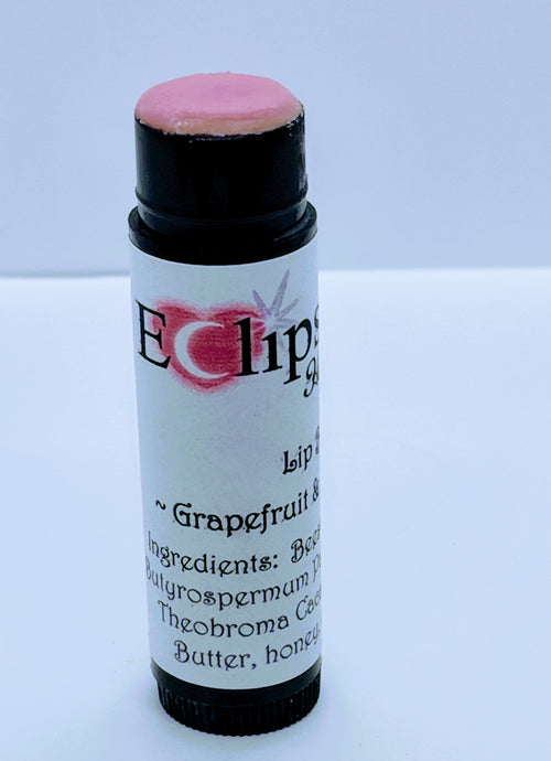 Moisturizing Lip Balm ~ Grapefruit & Peppermint