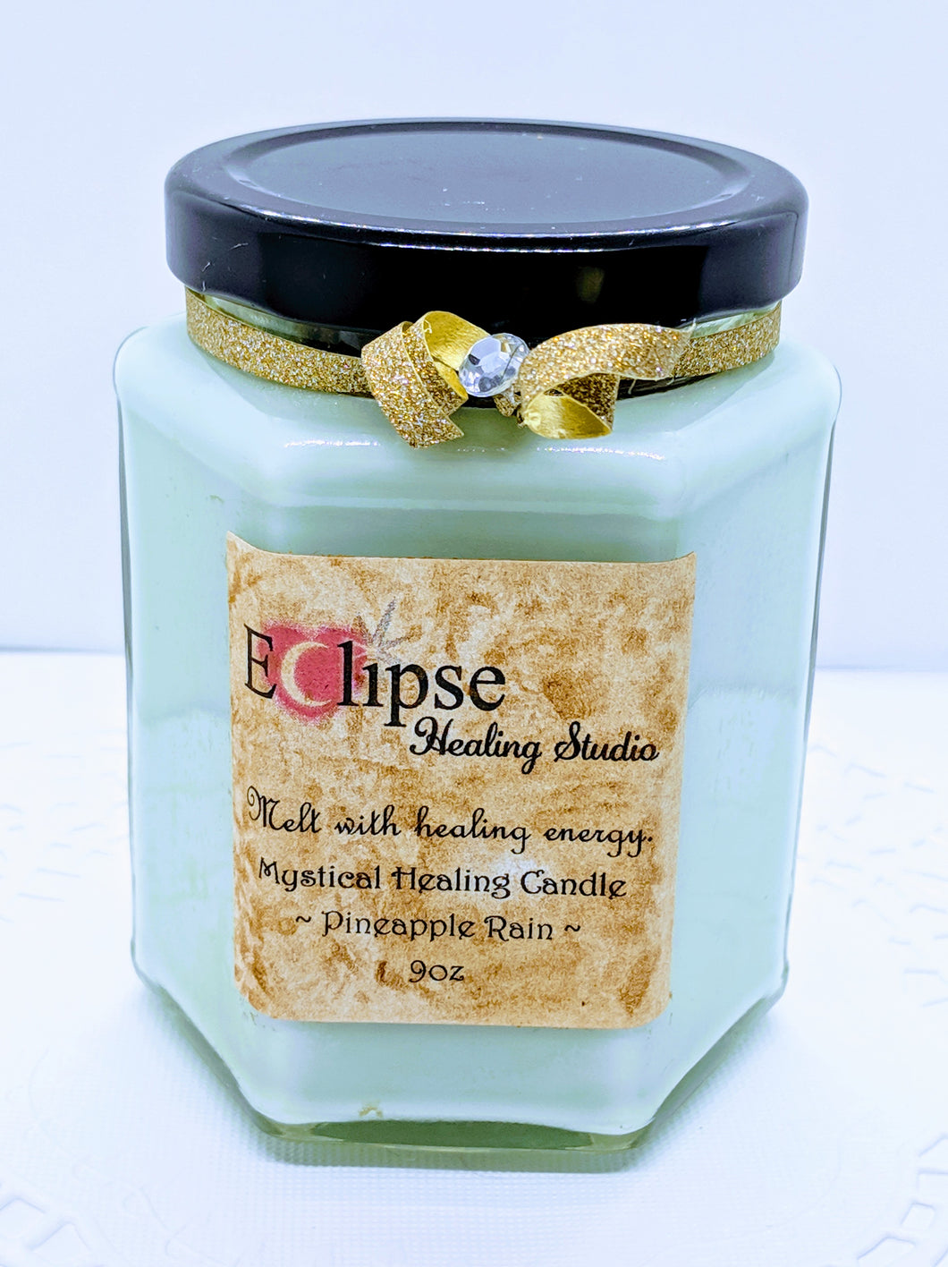 Mystical Healing Candle ~ Pineapple Rain