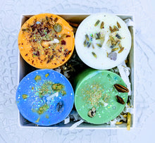 Votive Candle Gift Set  ~ Earth, Air, Fire & Water