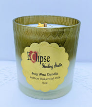 Wooden Wicks Healing Candle ~ Lemon Essential Oils