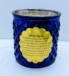 Wooden Wicks Healing Candle ~ Eucalyptus & Lime Essential Oils
