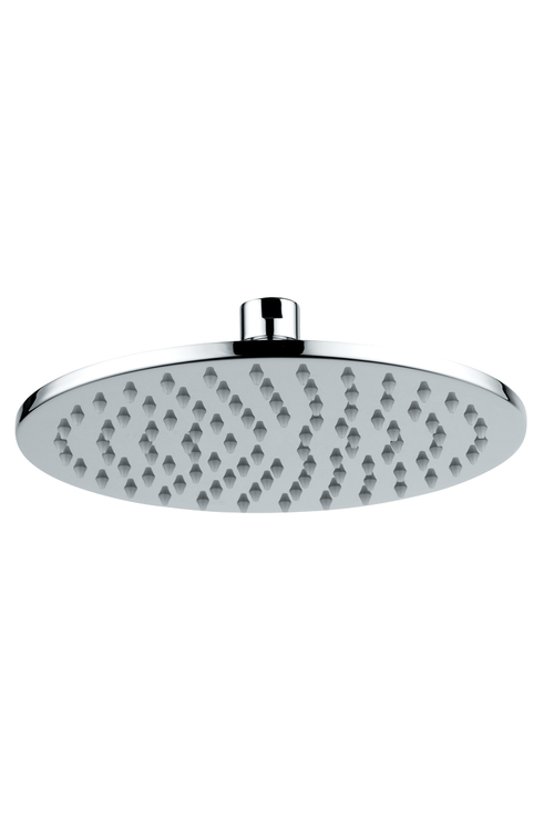 "Novara Round Bathroom Shower Head, 12"" Rainfall"
