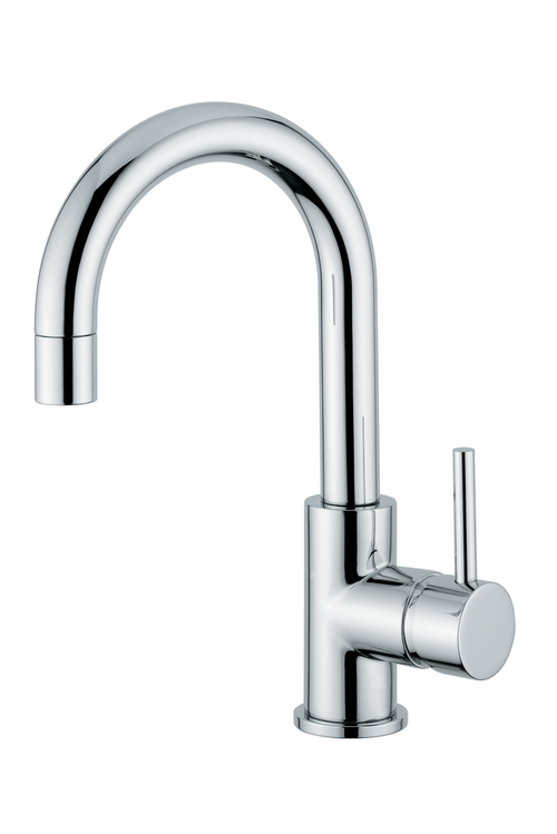 Novara Single Handle Sink Faucet With Swivel Spout