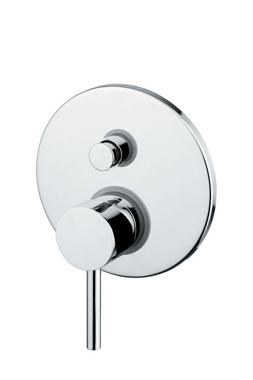 Novara Single Handle PB Valve Trim With Diverter 2 Output