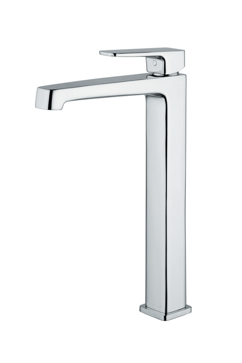 Carpi Single Handle Bathroom Sink Faucet, Tall