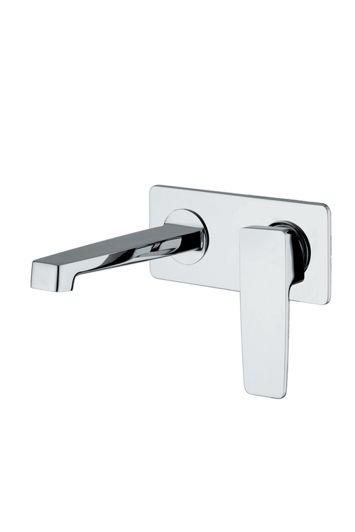 Carpi Wall Mount Single Handle Sink Faucet