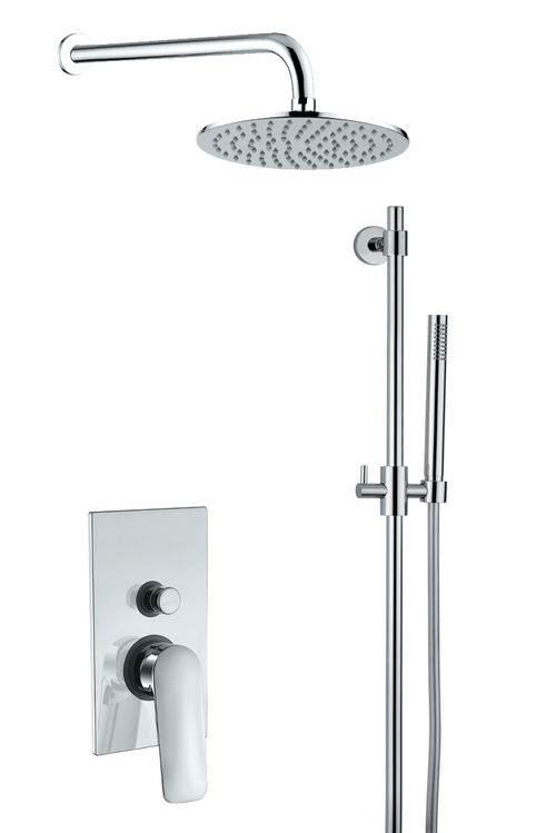 Verona Round Shower Set 3