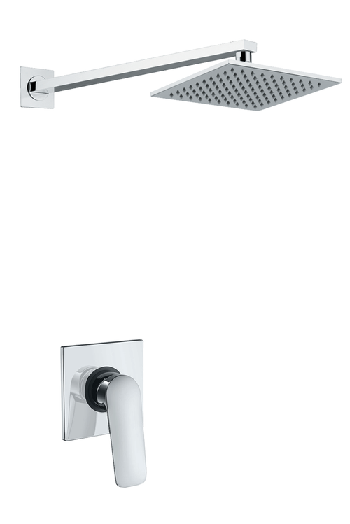 Verona Square Shower Set 1