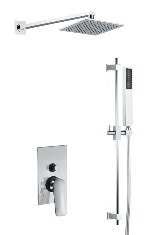 Verona Square Shower Set 3