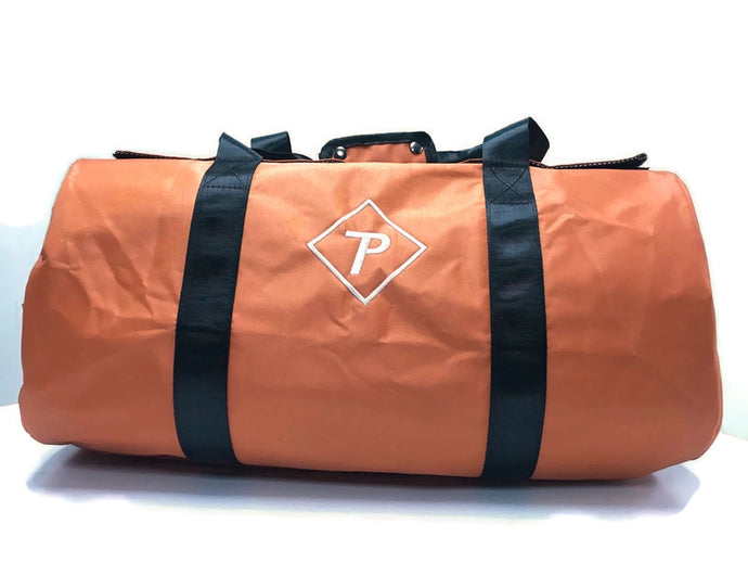 Trappack Duffle Bag (Orange) Odor Resistant