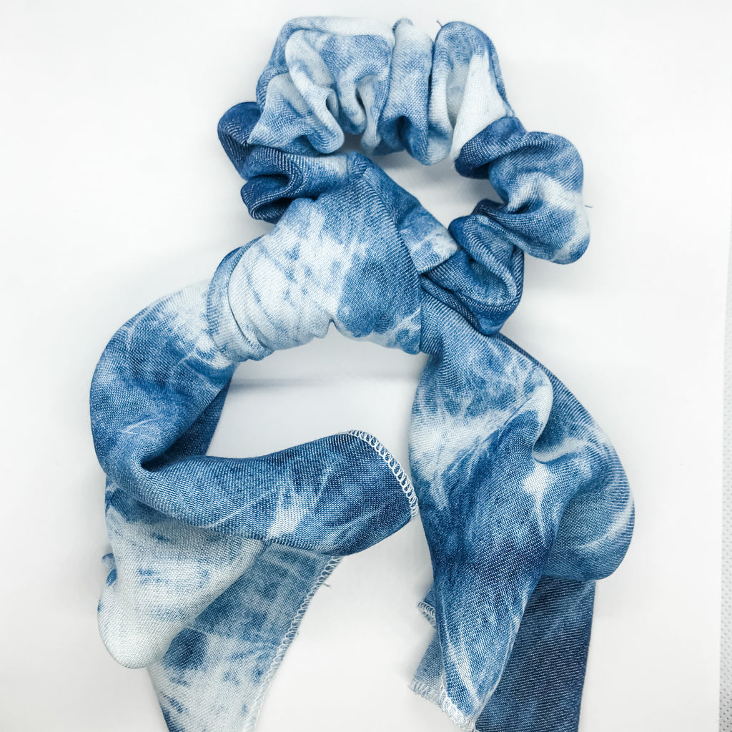 Retro Water Baby Limited Edition Tie-Dye Pony Scarf