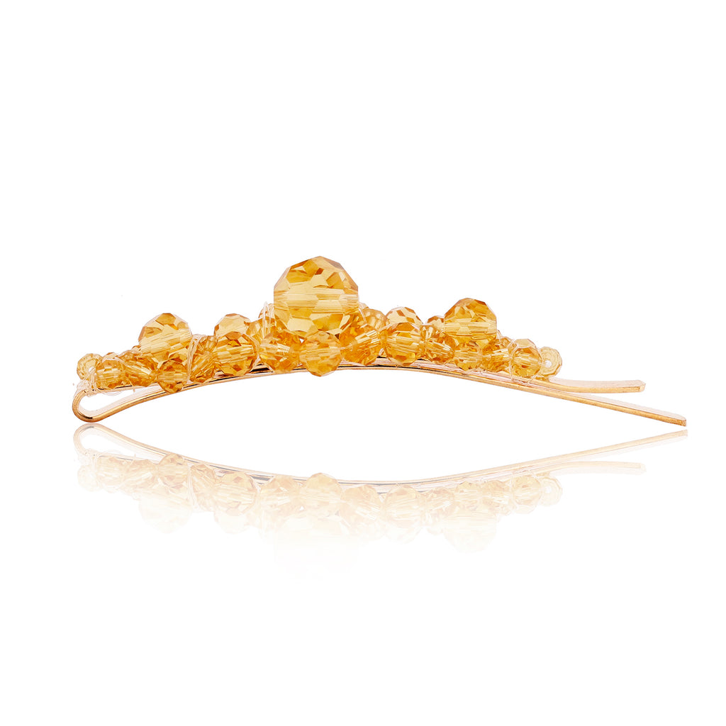 Aspen Gold Large Barrette - sweet-bella-rose