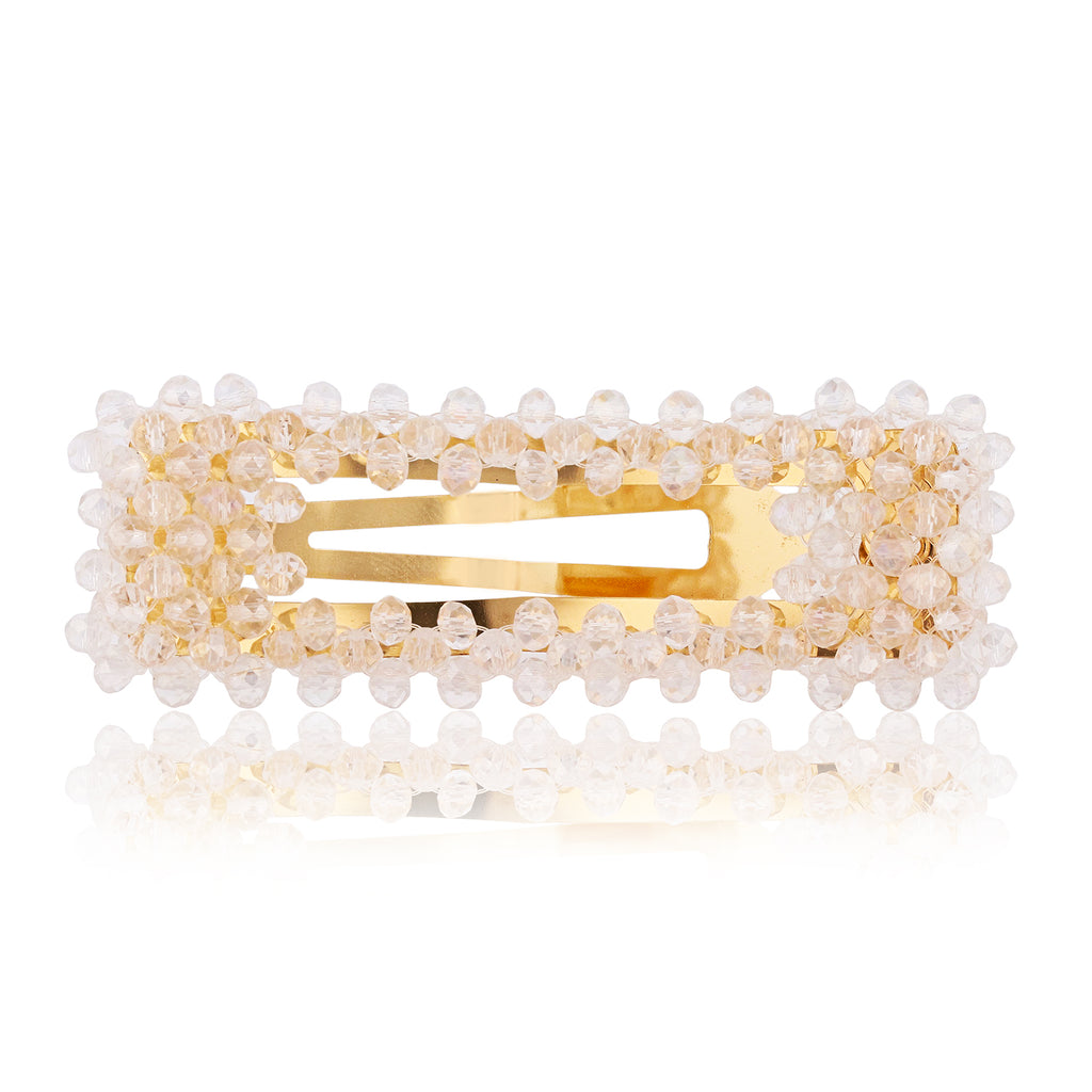 Champagne Bubbles Barrette - sweet-bella-rose