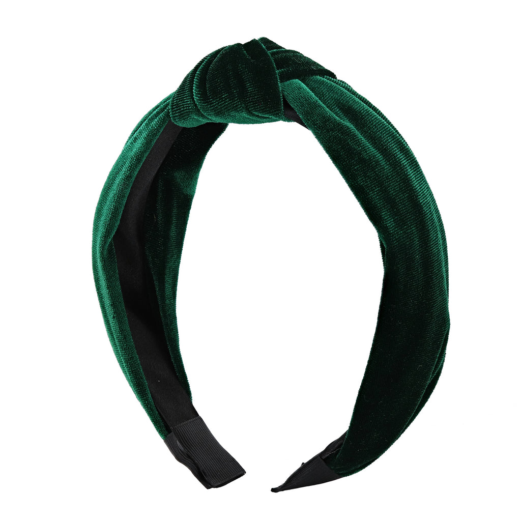 Emerald City Velvet Headband - sweet-bella-rose