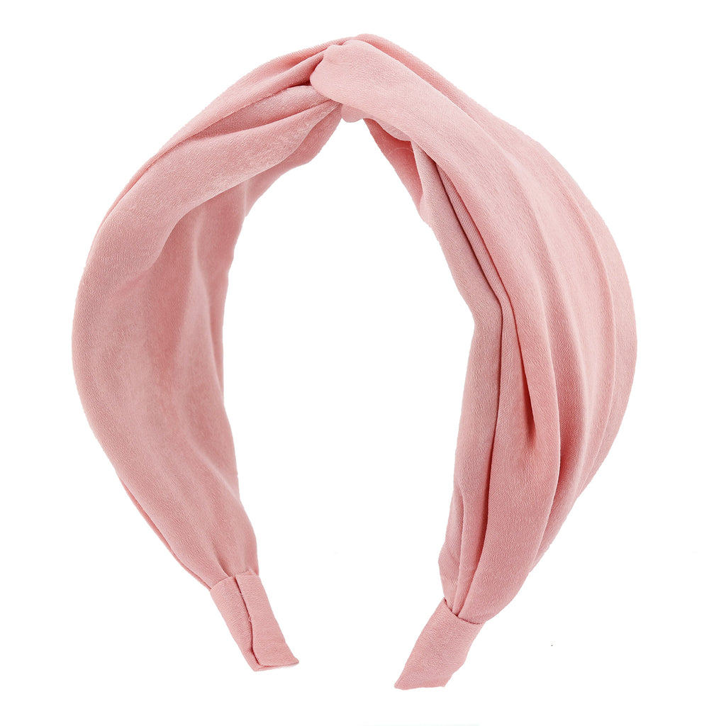 Prettier in Pink Wide Headband - sweet-bella-rose