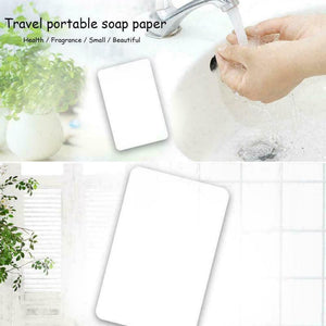 Travel / Camping Instant Soap Paper Sheets Cleaning Hands Anytime