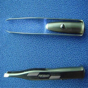 Eyebrow Tweezers With LED Light