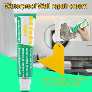 Waterproof Wall Mending Cream For Crack / Peeling Graffiti / Gap