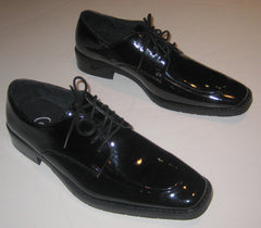 New Men's Black Coronado Whitaker Oxfords Tuxedo Shoes