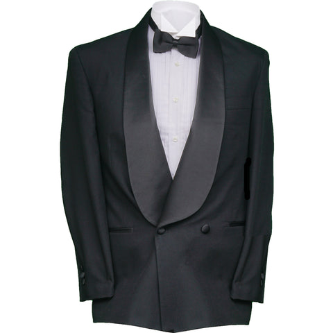 Men's Vintage Double Breasted Shawl Lapel Tuxedo Suit