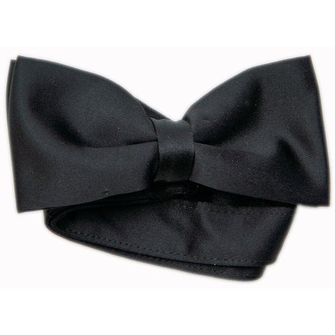 100 Men's Black Bow Ties