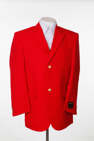 Men's Two Button Single Breasted Dinner Blazer Red Suit Jacket New