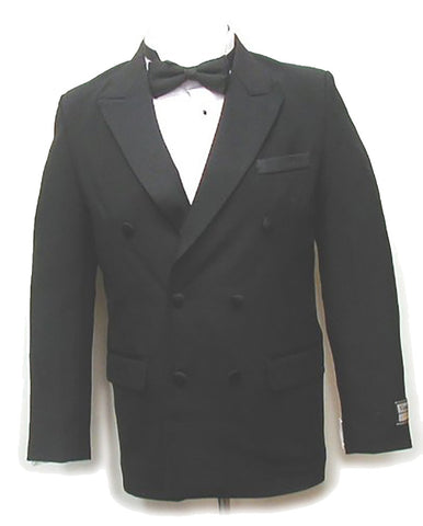 Men's Vintage Double Breasted Peak Lapel Tuxedo Jacket New by Broadway Tuxmakers