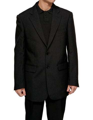 Men's 2 Button Black Dress Suit