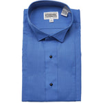 Boy's Royal Blue Tuxedo Shirt