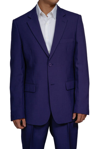 Men's 2 Button Purple Dress Suit