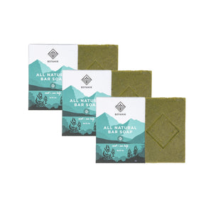 All Natural Bar Soap - Mint + Sea Kelp