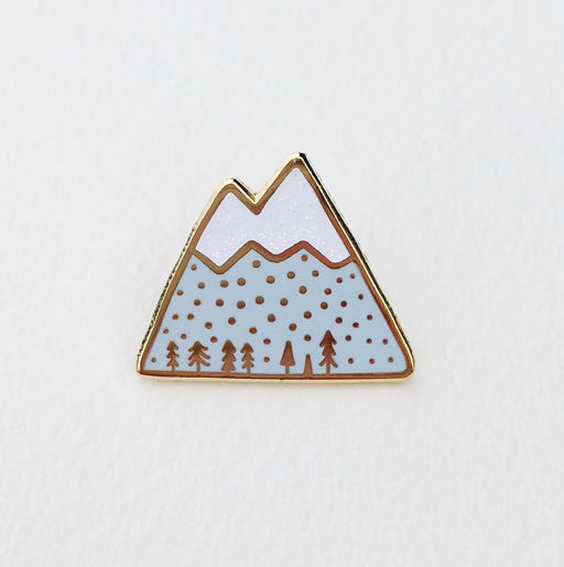 Mountain Top Enamel Pin