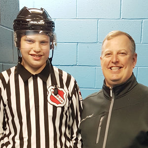 My Son's First Year as a Hockey Official