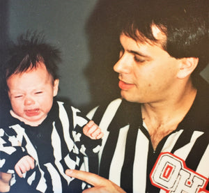 Family in Stripes | The Bond between a Father and Son