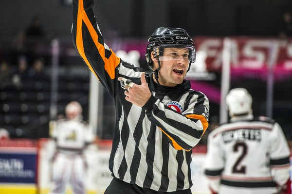 Podcast with AHL/Olympic Referee Tim Mayer