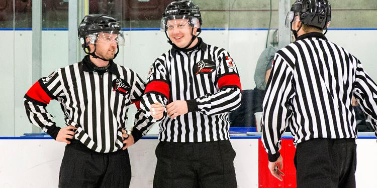 The Need for Teamwork with Hockey Officials