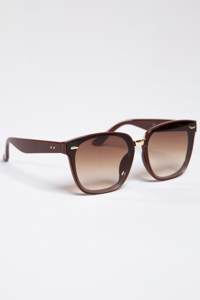Classic Brown Frame Sunglasses
