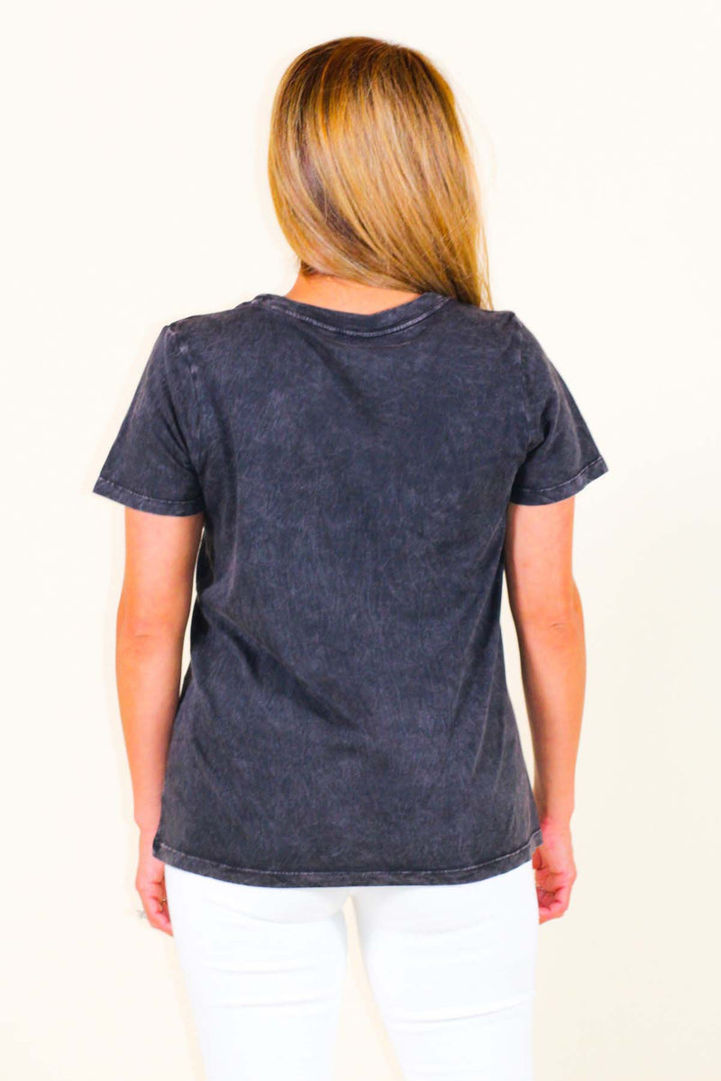 America Stone-Washed Graphic Tee