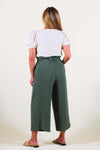 Paperbag Wide-leg Pants