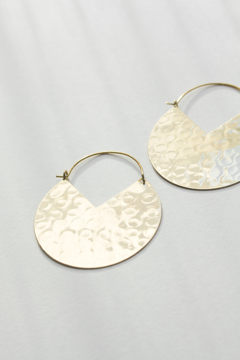 Pacman Hoop Earrings