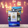 Happy Hanukkah Snacking Basket