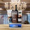 Happy Hanukkah Wine & Treats Basket