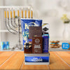 Hanukkah Treats Basket, Hanukkah gift baskets, gourmet gift baskets