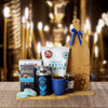 Hanukkah Coffee & Snacks Gift Basket, Hanukkah gift baskets, gourmet gift baskets